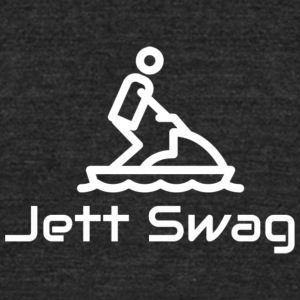 Jett Swag Jet Ski - Unisex Tri-Blend T-Shirt by American Apparel
