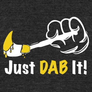 Just DAB It! - Unisex Tri-Blend T-Shirt by American Apparel