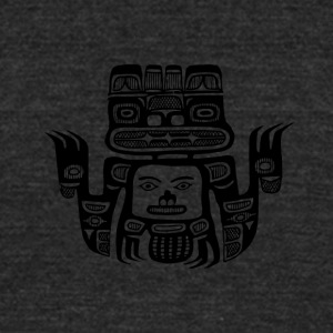 Maya SYMBOL - Unisex Tri-Blend T-Shirt by American Apparel
