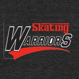 Skating design - Unisex Tri-Blend T-Shirt by American Apparel