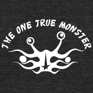 the one true monster Netherlands white - Unisex Tri-Blend T-Shirt by American Apparel