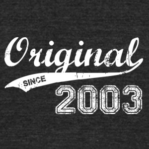 2003 - Unisex Tri-Blend T-Shirt by American Apparel