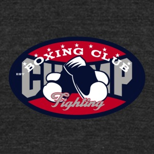 Boxing club - Unisex Tri-Blend T-Shirt by American Apparel