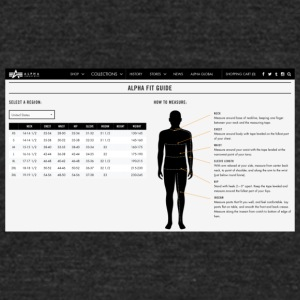 alpha fit guide - Unisex Tri-Blend T-Shirt by American Apparel