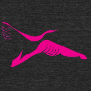 flying without boundries - Unisex Tri-Blend T-Shirt by American Apparel