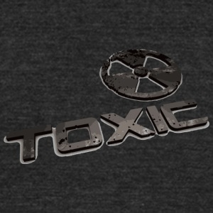 Toxic - Unisex Tri-Blend T-Shirt by American Apparel