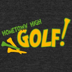 Hometown High Golf - Unisex Tri-Blend T-Shirt by American Apparel