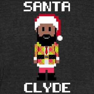 Santa Clyde So Fly (Limited Edition) - Unisex Tri-Blend T-Shirt by American Apparel
