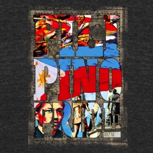 FILIPINO PRIDE. Philippines Honor and Pride. - Unisex Tri-Blend T-Shirt by American Apparel
