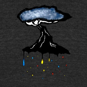 Tree of Color - Unisex Tri-Blend T-Shirt by American Apparel