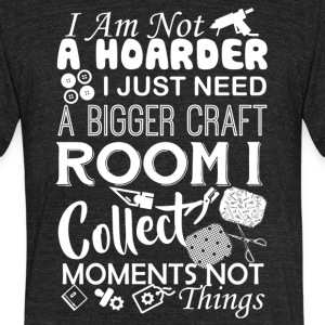 Scrapbooking Tshirt - Unisex Tri-Blend T-Shirt by American Apparel