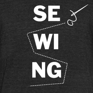 sewing - Unisex Tri-Blend T-Shirt by American Apparel