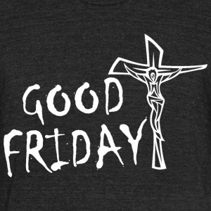 Good Friday Jesus - Unisex Tri-Blend T-Shirt by American Apparel