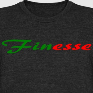 Finesse - Unisex Tri-Blend T-Shirt by American Apparel