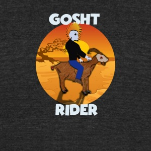 GOSHT RIDER - Unisex Tri-Blend T-Shirt by American Apparel