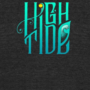 Highm tide - Unisex Tri-Blend T-Shirt by American Apparel