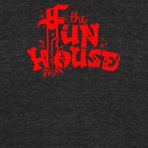 The Fun house - Unisex Tri-Blend T-Shirt by American Apparel