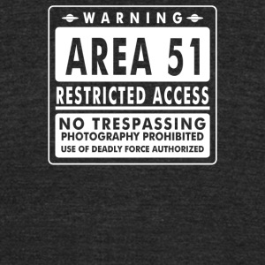 Area 51 - Unisex Tri-Blend T-Shirt by American Apparel