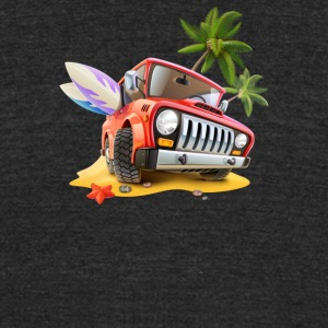 Travel Cars - Unisex Tri-Blend T-Shirt by American Apparel