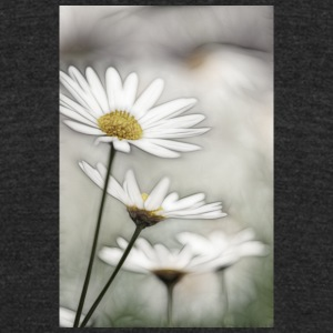 Sketch of Daisies - Unisex Tri-Blend T-Shirt by American Apparel