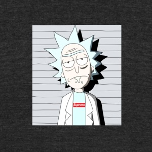 rick sanchez supreme - Unisex Tri-Blend T-Shirt by American Apparel
