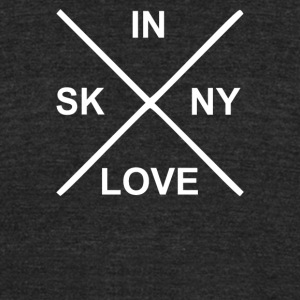 Bon Iver Skinny Love - Unisex Tri-Blend T-Shirt by American Apparel