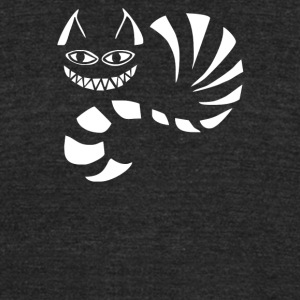 Cheshire Cat Alice In Wonderland Funny - Unisex Tri-Blend T-Shirt by American Apparel