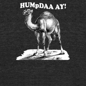 hump day Funny Men's T-shirt - Unisex Tri-Blend T-Shirt by American Apparel