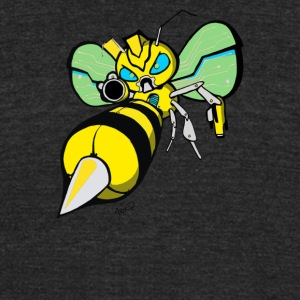 Boozer Bumble Cyber Sysytem - Unisex Tri-Blend T-Shirt by American Apparel
