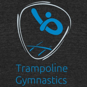 Trampoline_gymnastics - Unisex Tri-Blend T-Shirt by American Apparel