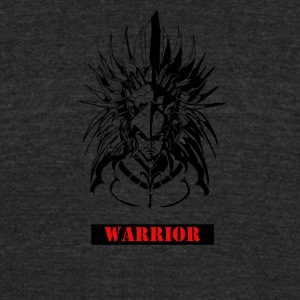 WARRIOR - Unisex Tri-Blend T-Shirt by American Apparel