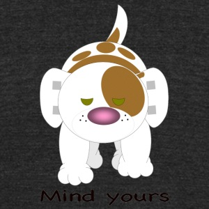 Hazey mind yours - Unisex Tri-Blend T-Shirt by American Apparel