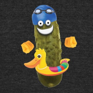 Swim Pickle - Unisex Tri-Blend T-Shirt by American Apparel