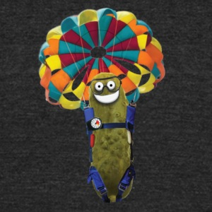 Parachute Pickle - Unisex Tri-Blend T-Shirt by American Apparel