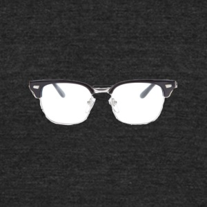glasses2 - Unisex Tri-Blend T-Shirt by American Apparel