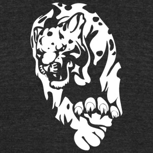 dotted_panther - Unisex Tri-Blend T-Shirt by American Apparel