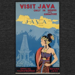 vintage java - Unisex Tri-Blend T-Shirt by American Apparel