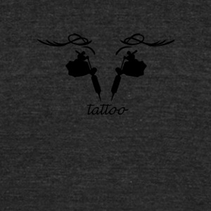 Tattoo design - Unisex Tri-Blend T-Shirt by American Apparel