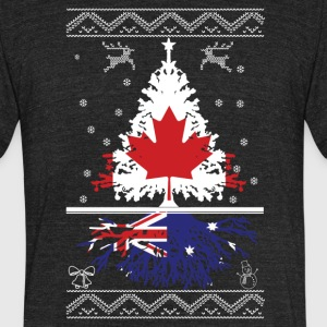 Canadian with Australian root - Unisex Tri-Blend T-Shirt by American Apparel