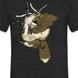 Prisoner Hadouken - Unisex Tri-Blend T-Shirt by American Apparel