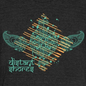 Distant short Hindi art - Unisex Tri-Blend T-Shirt by American Apparel