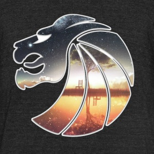 Seven Lions Logo - Unisex Tri-Blend T-Shirt by American Apparel