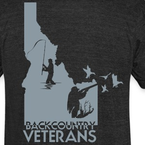 idaho hunting and fishing vets - Unisex Tri-Blend T-Shirt by American Apparel