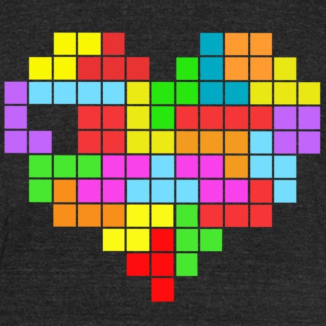 tetris heart