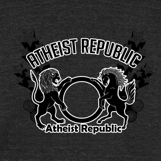 Atheist Republic Logo - Shooting Stars