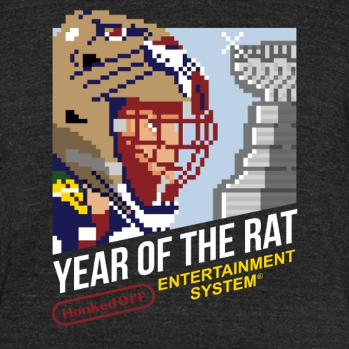 Year of the Rat - Unisex Tri-Blend T-Shirt