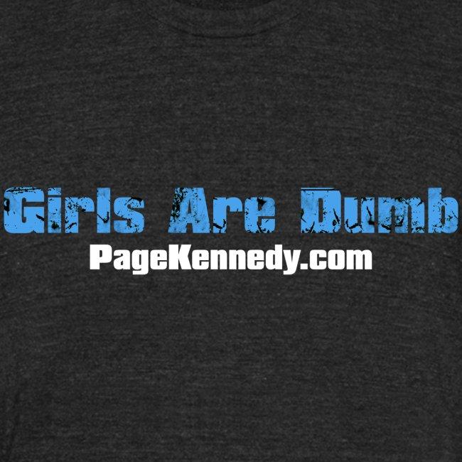 girlsdumb blue