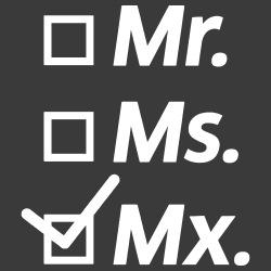 mr. ms. mx.