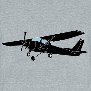 cessna 152 - Unisex Tri-Blend T-Shirt by American Apparel
