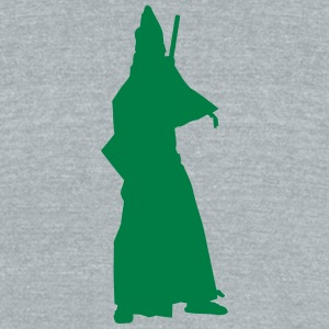 Vector Asian Silhouette - Unisex Tri-Blend T-Shirt by American Apparel